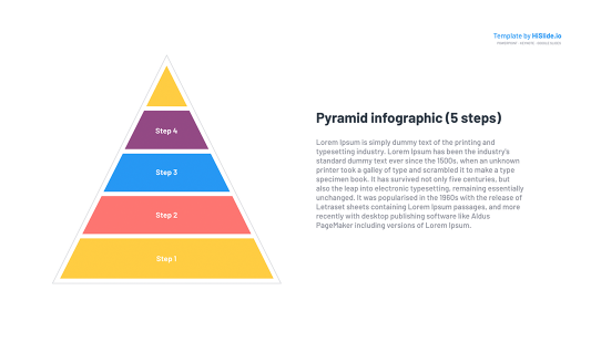 Shape of pyramid for Google Slides