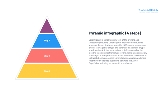 Shapes Pyramid Google slides template