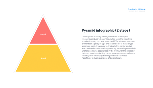 PowerPoint Pyramid template Free