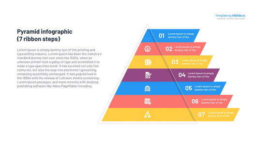 Shape Pyramid Google Slides template