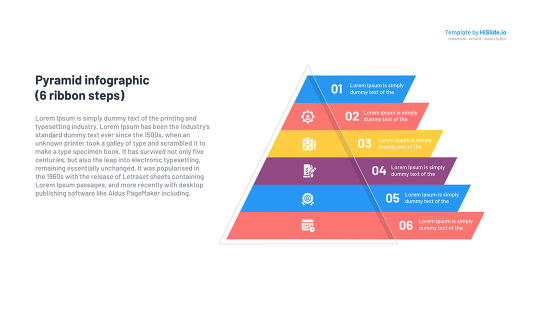 PowerPoint Pyramid graphic