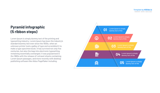 Pyramid slide PowerPoint template