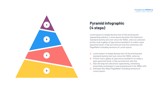Step Pyramid diagram free