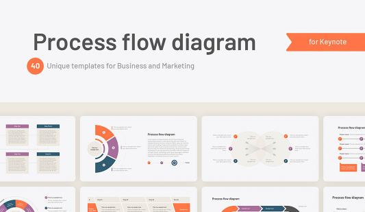 Keynote Process flow template