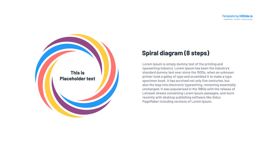 Spiral Powerpoint Free download