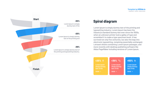 Spiral Graph Keynote Template
