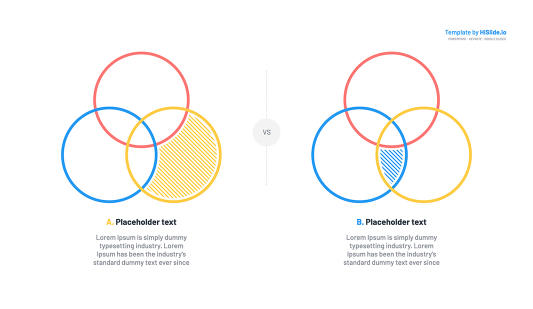 Keynote Venn diagram template
