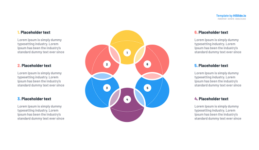 Venn Diagram Keynote templates