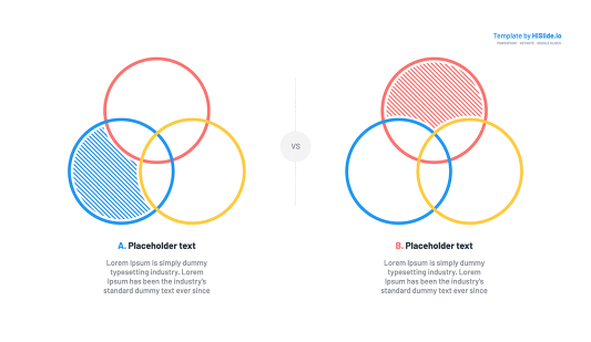 Venn Diagram Google slides Template