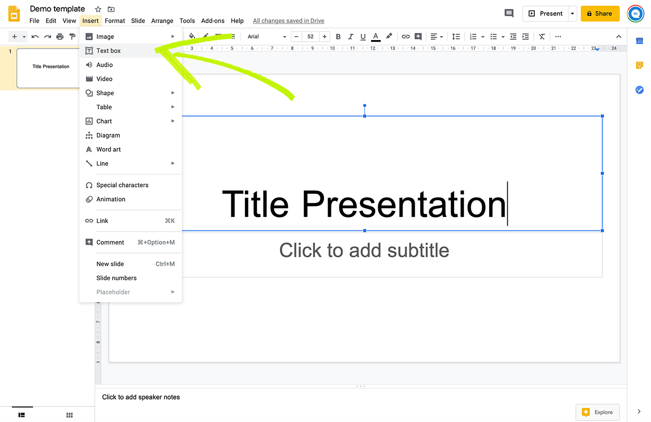 Google Slides Add Or Remove Headers Footers And Page Numbers You can quickly delete a table from within any mobile or desktop platform by opening the table's menu and selecting the delete option. google slides add or remove headers