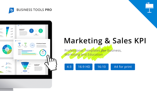 KPI Marketing and Sales templates