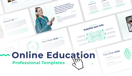 Online Education PowerPoint Presentation