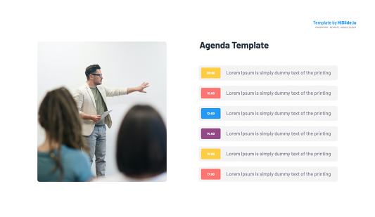 Meeting Agenda Google Slides Template