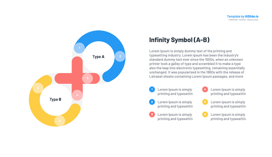 Infinity Google slides template