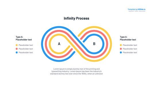 Infinity for Google slides presentation free