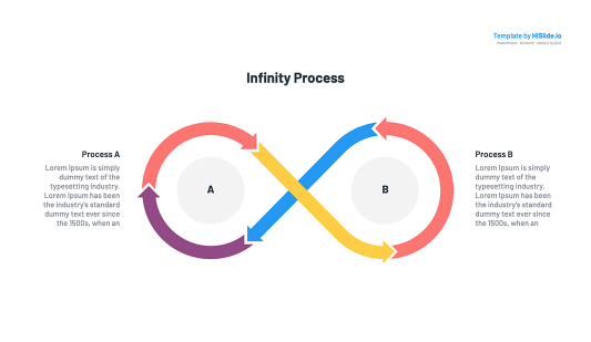 Infinity symbol vector for Keynote