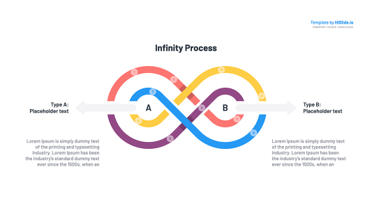 Infinity symbol Powerpoint Templates