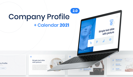 Company Profile 2.0 in PowerPoint