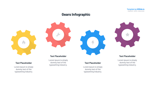 Free Gears for Google slides