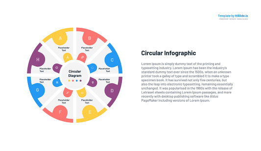 Google slides Circular flow diagram