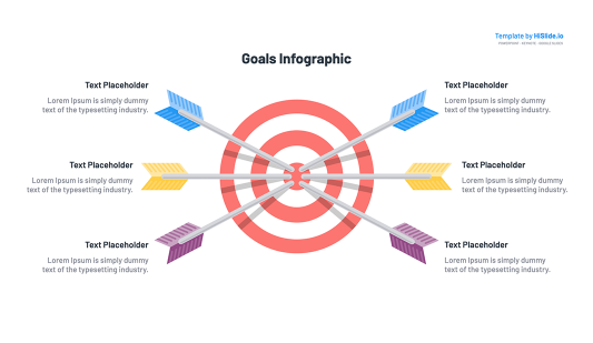 Goal Powerpoint template slide