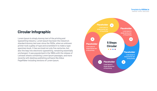 Circular Google slides Template