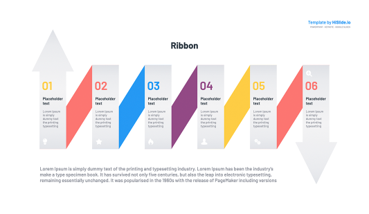 Ribbon Powerpoint Template