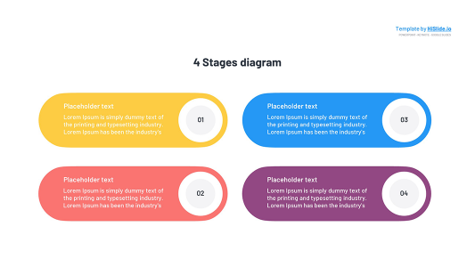 4 Stages Keynote template free