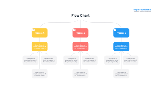 Flow chart in Keynote
