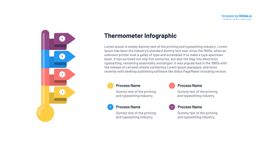 Thermometer Google slides templates free download