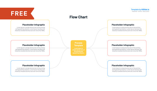 ppt flow chart template free download