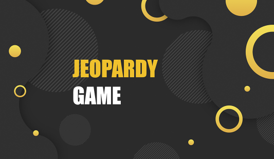 Jeopardy Game for Google slides