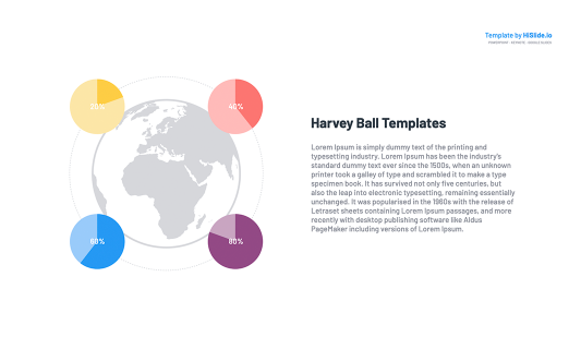Free Harvey ball images in Keynote