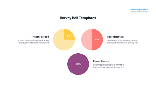 Harvey ball on Keynote free