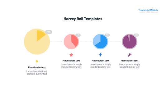 Harvey ball design in Keynote