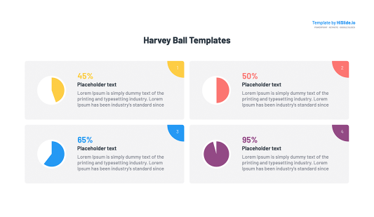 Harvey ball free design in Keynote