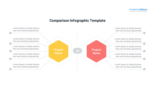 2 Comparison infographic Keynote template