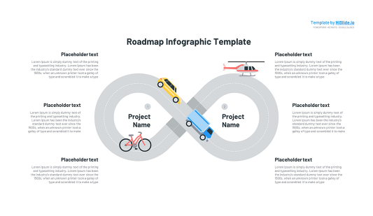 Free Road map in Powerpoint