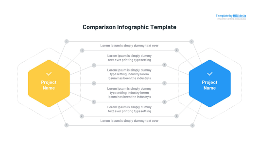 Comparison Presentation Keynote template