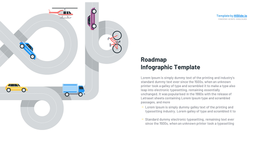Roadmap graphic for Keynote