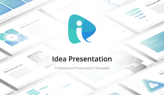 Idea Modern Google slides template
