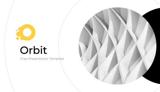 Orbit Modern Google slides template