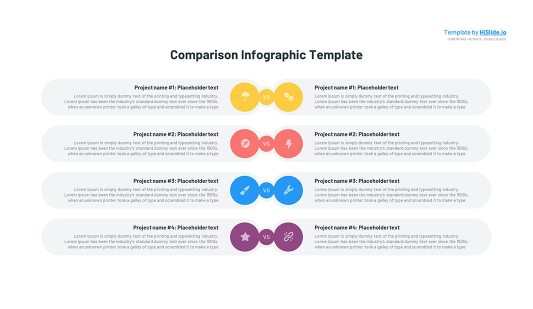 Comparison template for Keynote