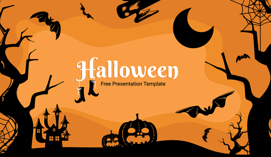 Halloween Powerpoint template free